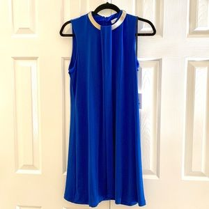 Calvin Klein Necklace Blue Dress